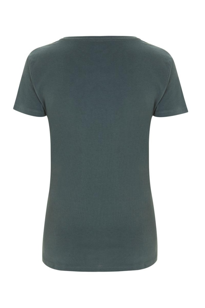 Basic Feminine T-shirt - Charcoal