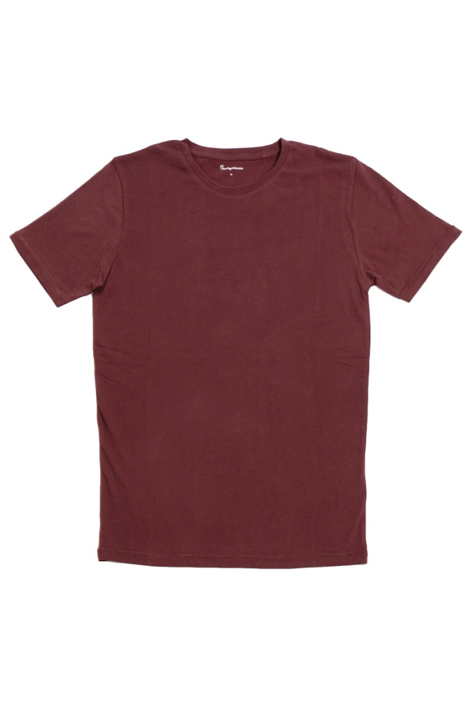 Basic Regular Fit O-Neck Tee - Decadent Chokolade