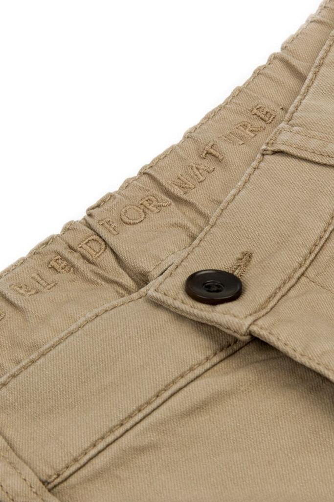 Chino Cuffed Pants - Taupe