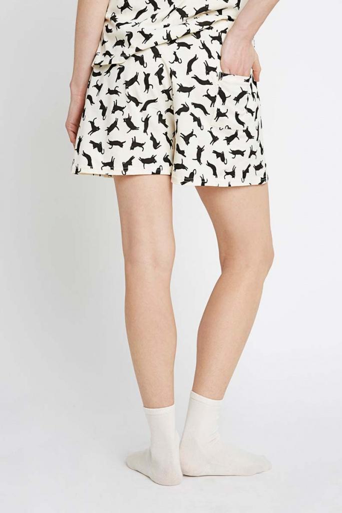 Cat Pyjama Shorts
