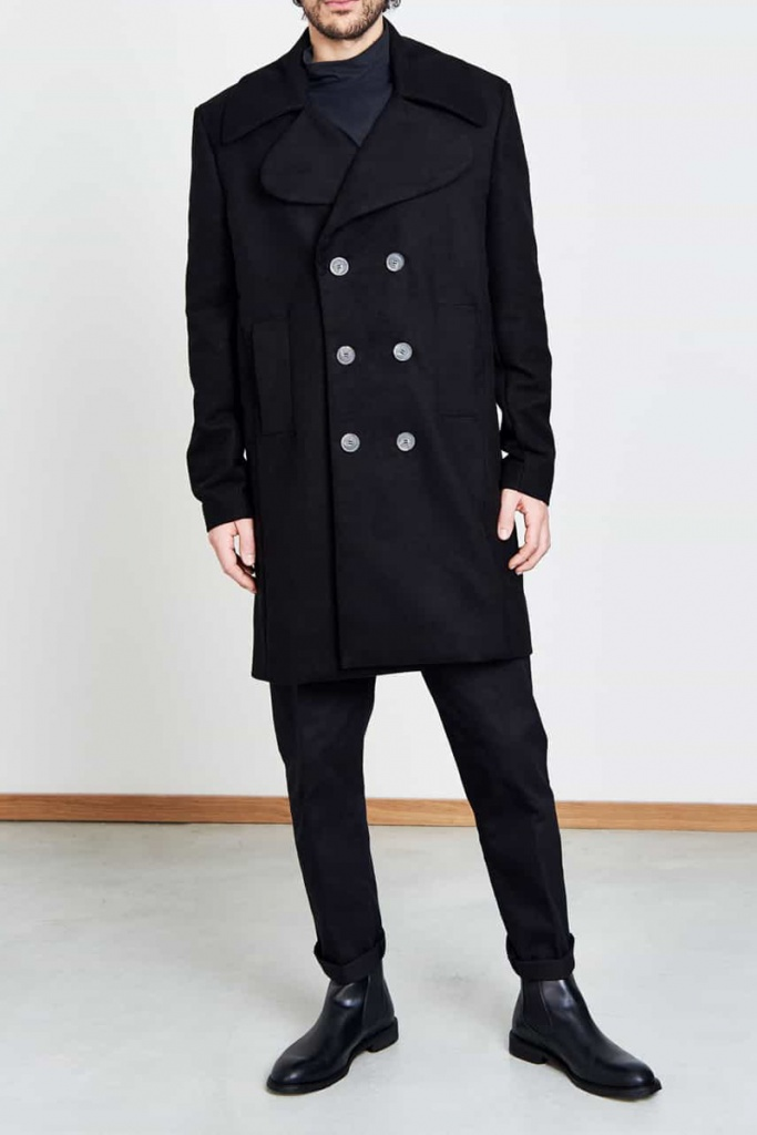Coat London - Black