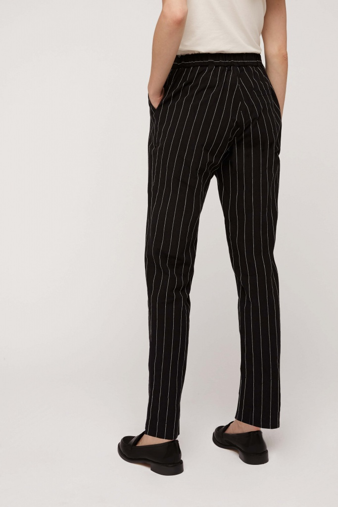Corin Pinstripe Trousers - 16 (XL)