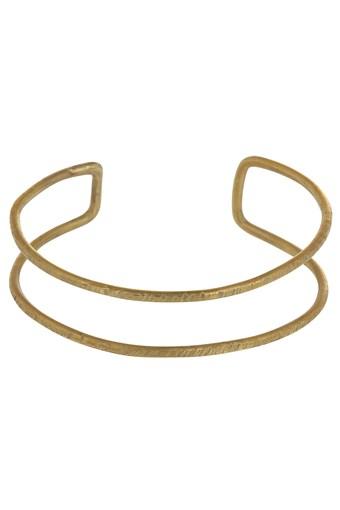 Double Bangle - Brass