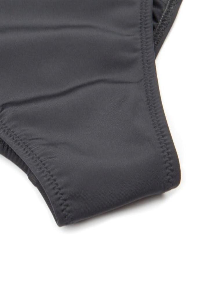 Eco Swimsuit - Olive/Black