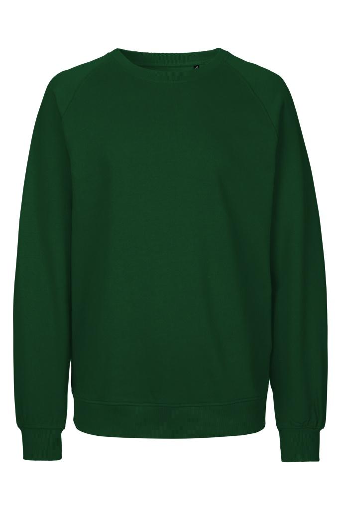 Unisex Sweatshirt - Bottle Green - L