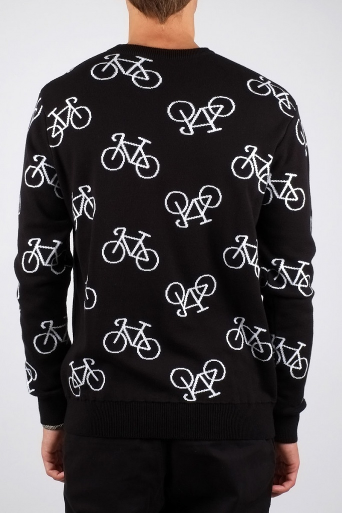 Enamel Bike - Black