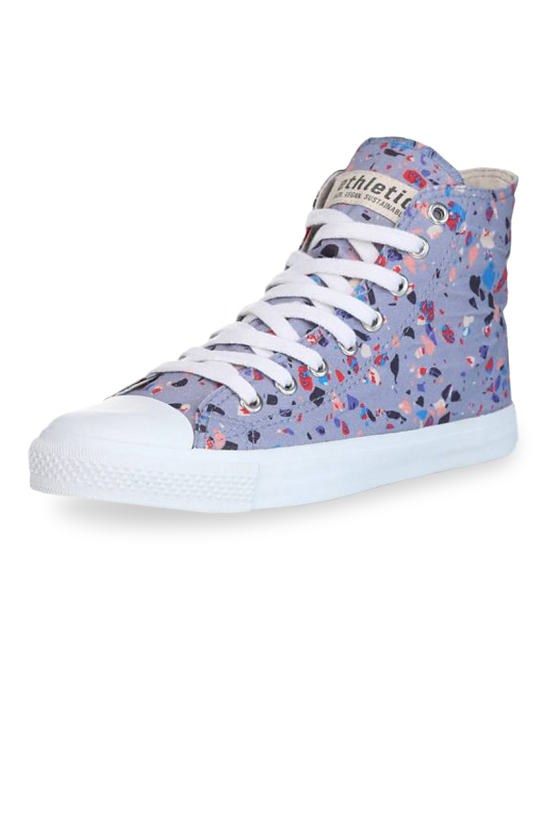Fair Trainer Hi Cut Collection - Terrazzo Blueberry