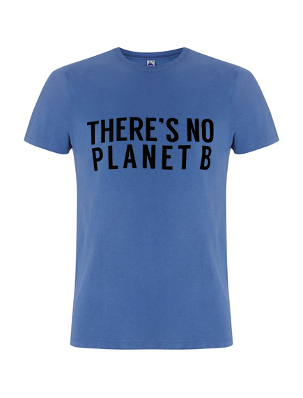 There´s No Planet B Masculine - Faded Denim