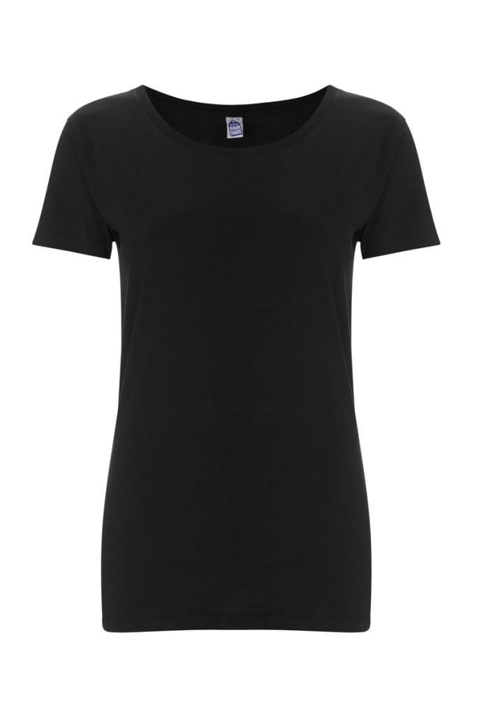 Basic Feminine T-shirt - Black