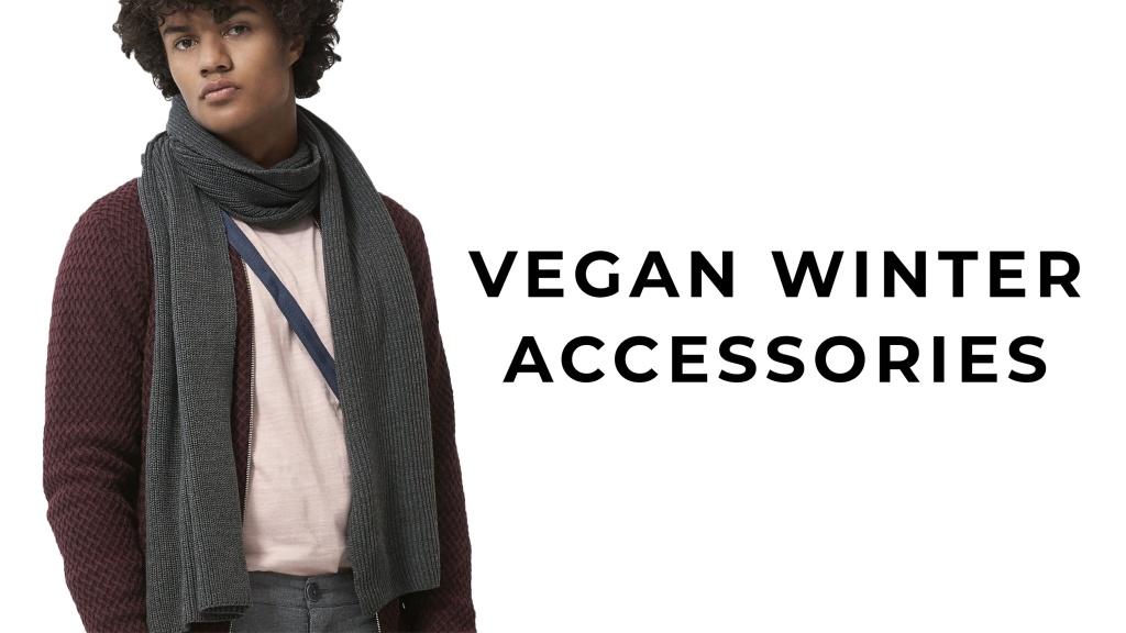 Ullfria veganska halsdukar och mössor