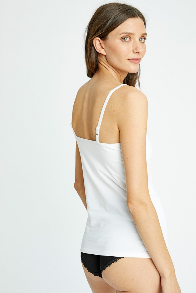 Hidden Support Camisole - White