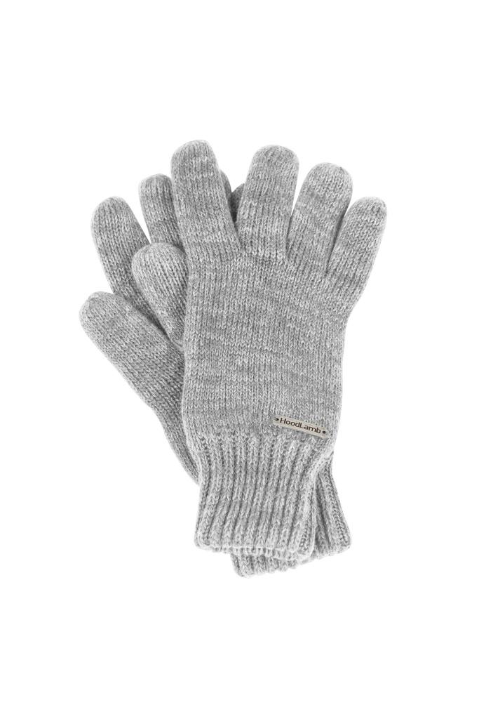 Knit Gloves - Grey