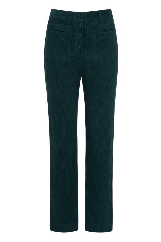 Jemima Corduroy Slim Trousers - 08 (XS)