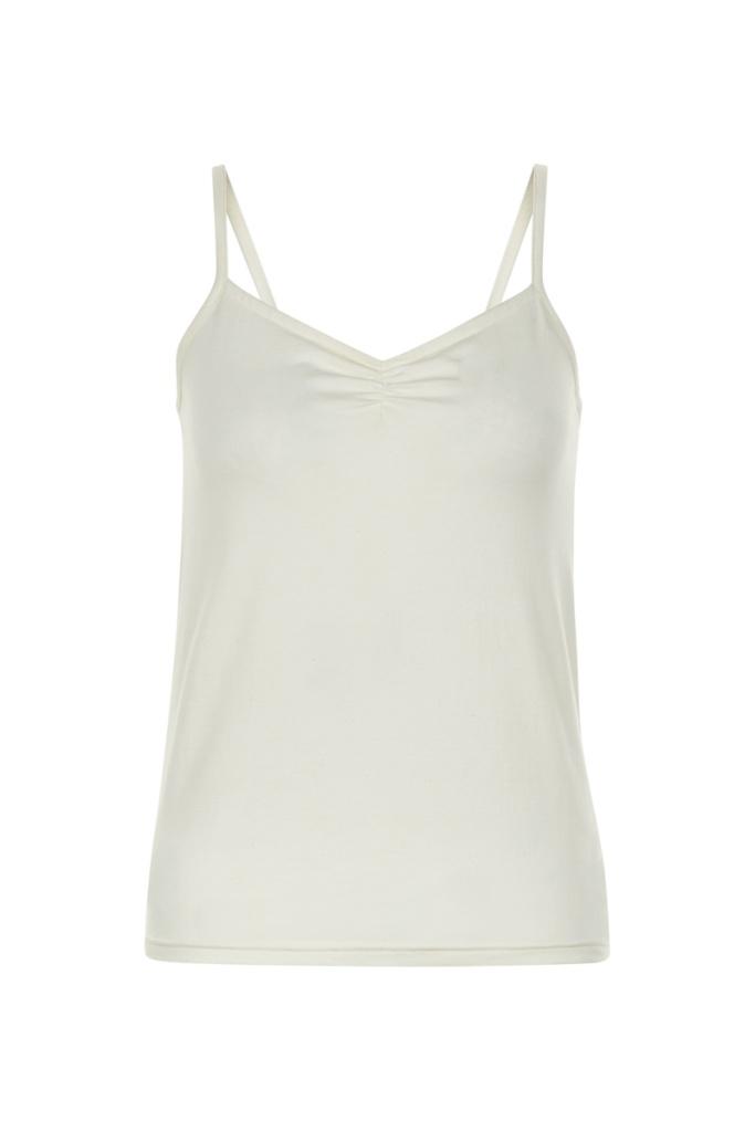 Jemma Camisole Top - Eco White