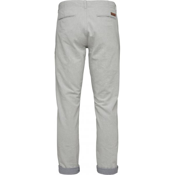 Twill Chino - Light Feather Grey