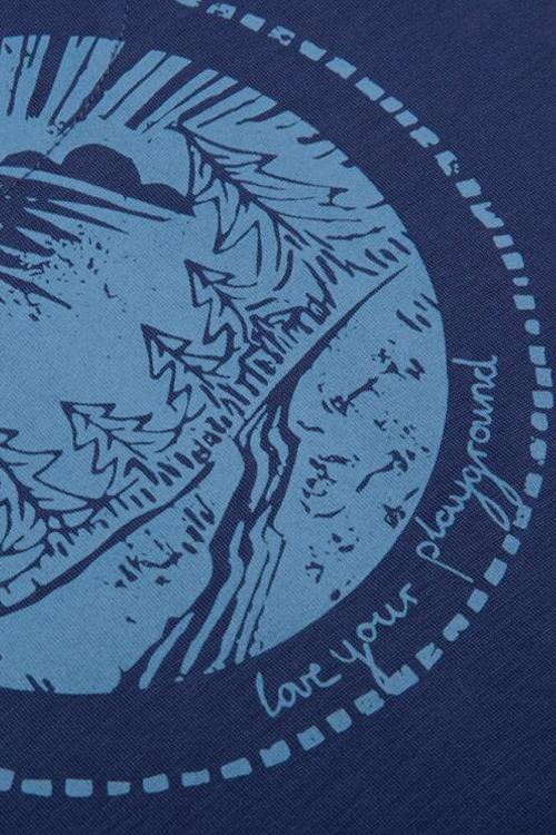 Lizardskin TENCEL™ T-Shirt Feminine - Blue
