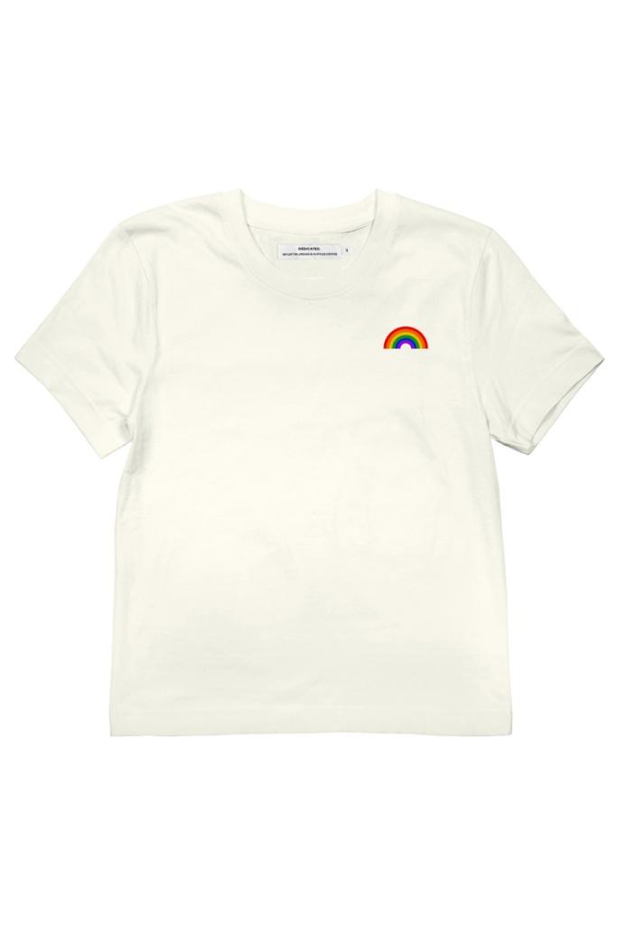 T-shirt Mysen Rainbow - Off White - XL