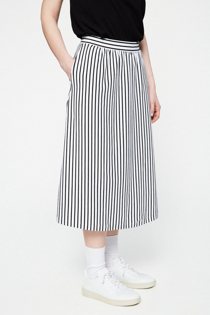 Milaa Stripes - Black