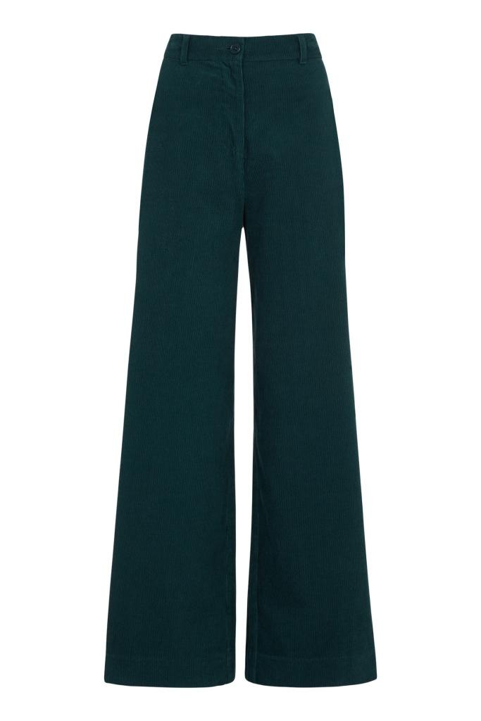 Noelle Corduroy Wide Trousers - 14 (L)
