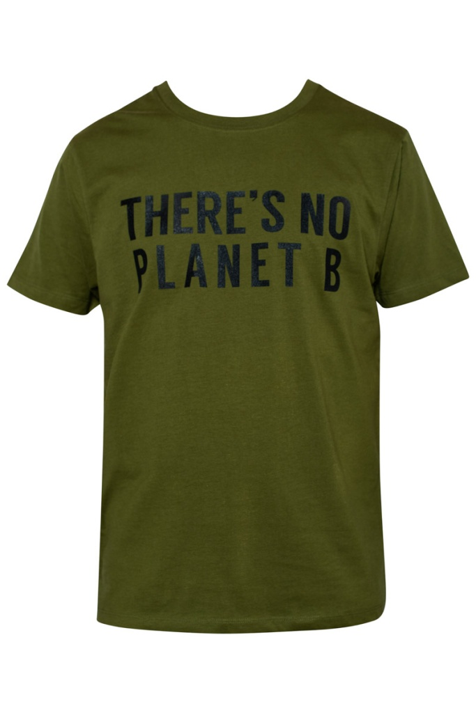 There´s No Planet B Masculine Unisex - Khaki