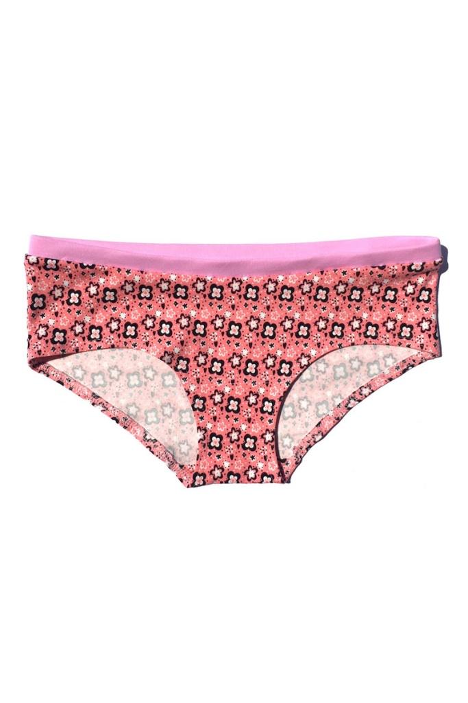 Hipster Panties - Pink Daisies