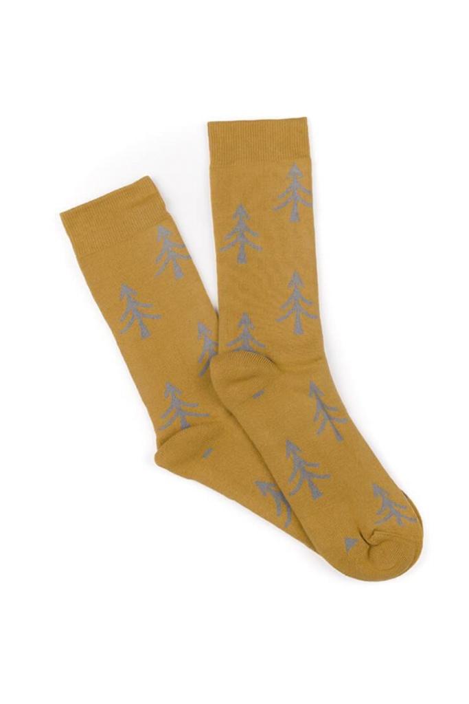 Polar Tree Socks - Yellow - 36-41