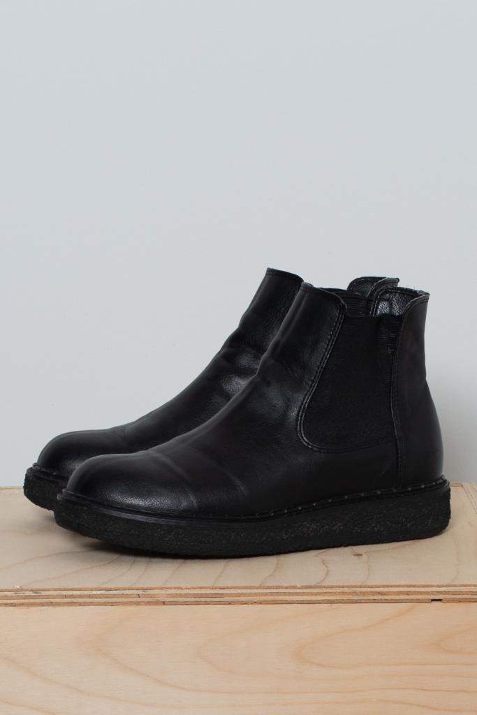 Reused Veganska Boots - Svarta - 40