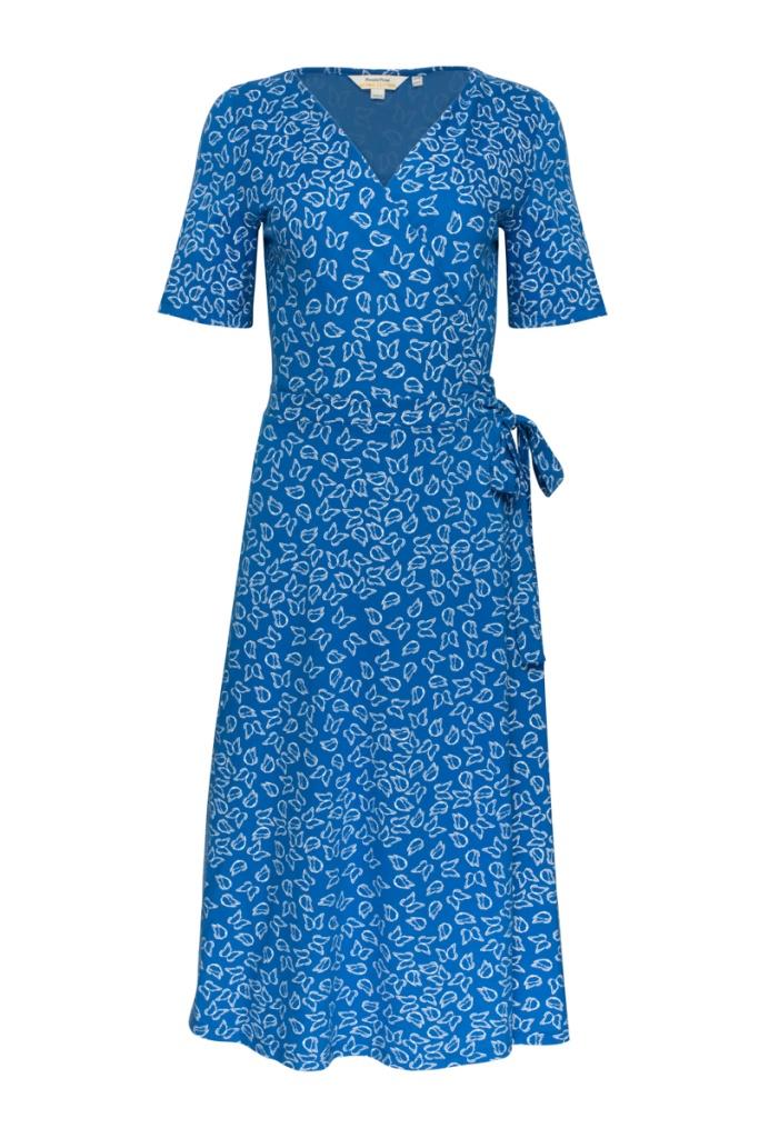 Ria Butterfly Wrap Dress - 08 (XS)