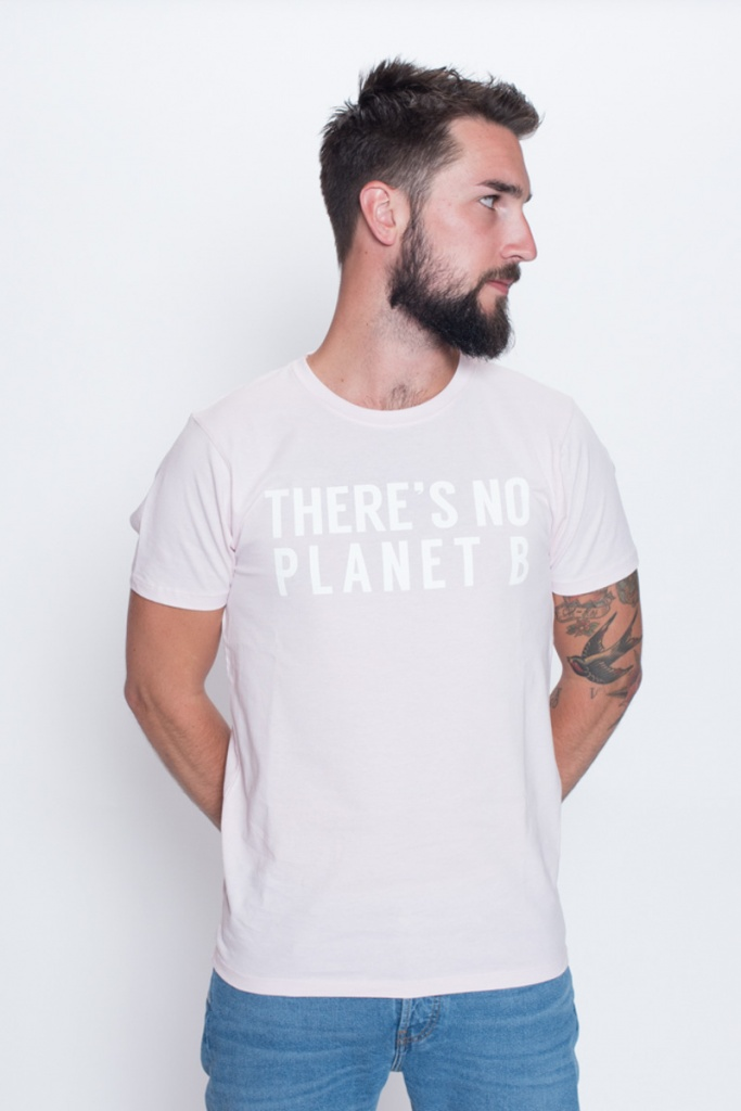 There's No Planet B Masculine Unisex - Pink