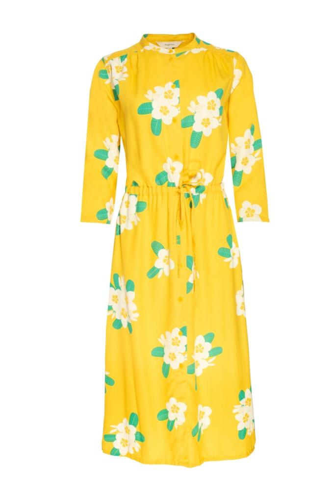 Savannah Plumeria Shirt Dress - 08 (XS)