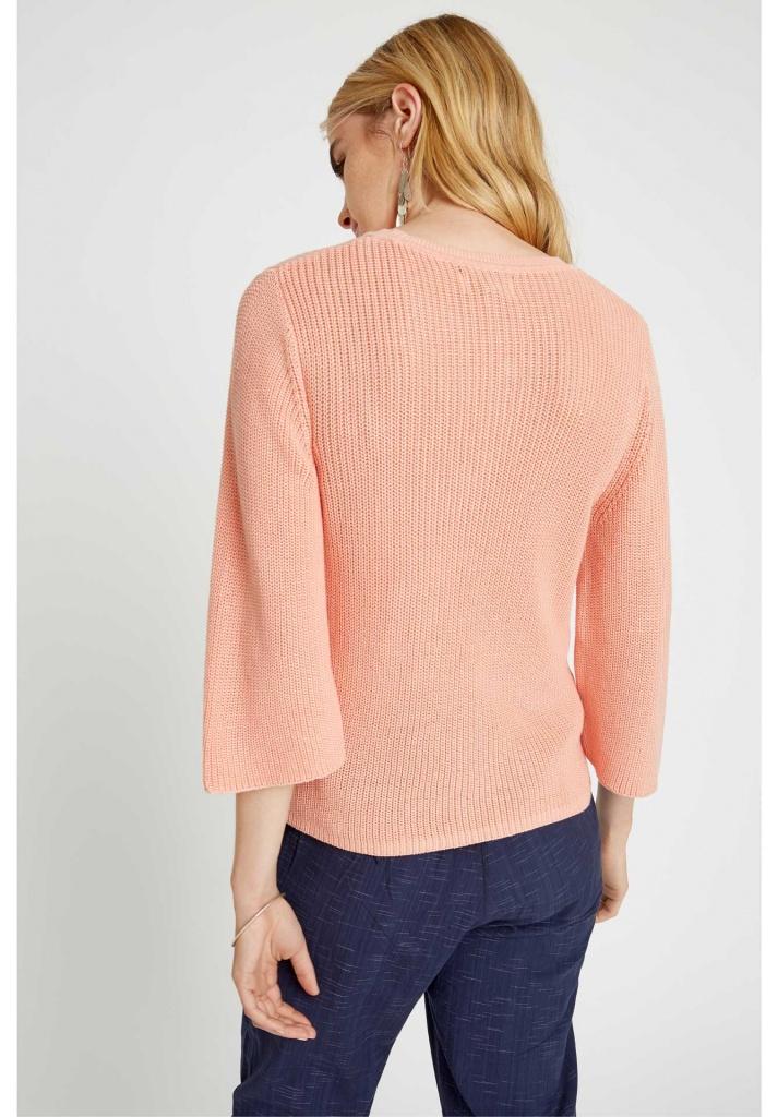 Sinead Rib Jumper - Pink