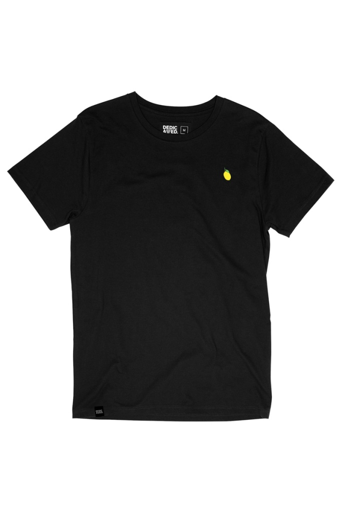T-shirt Stockholm Lemon - Black - L