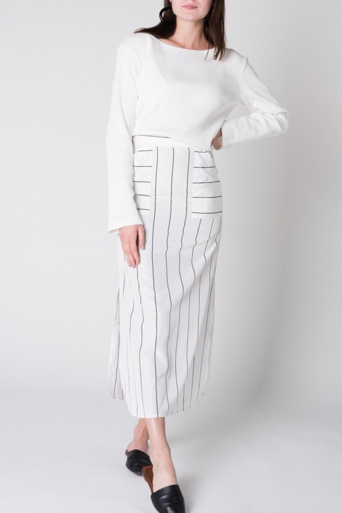 Skirt Pes - Striped