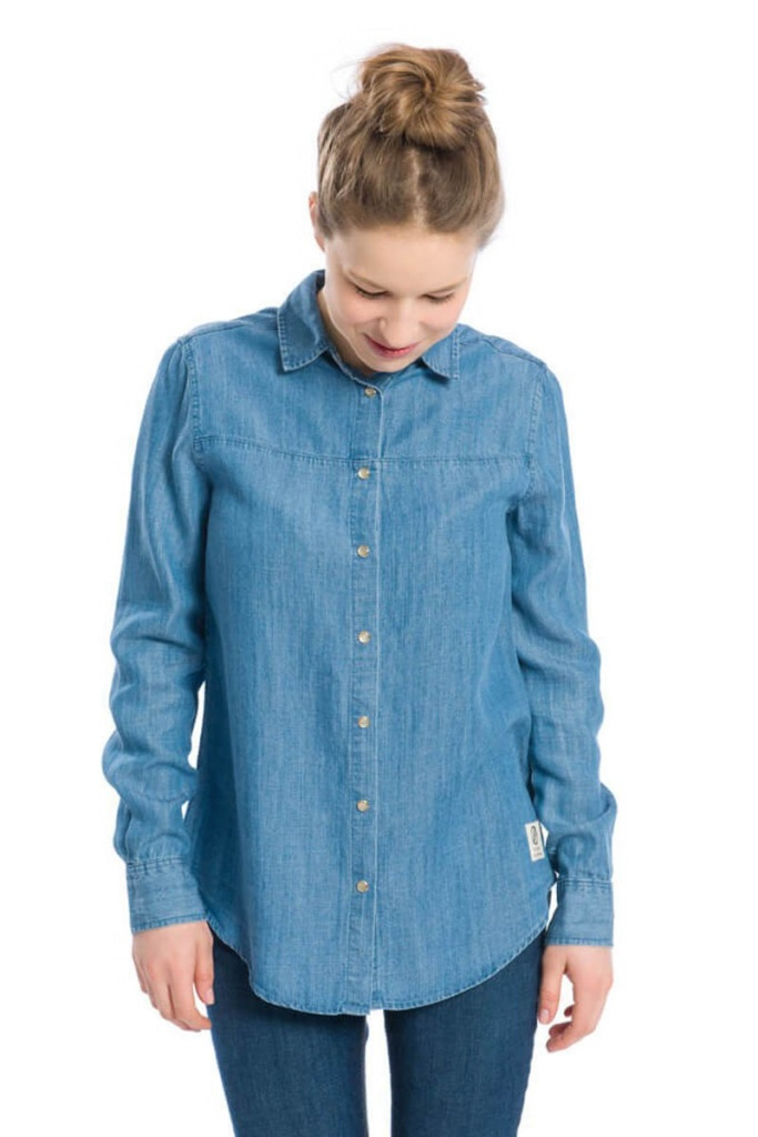 Jeans Shirt - Blue Structured