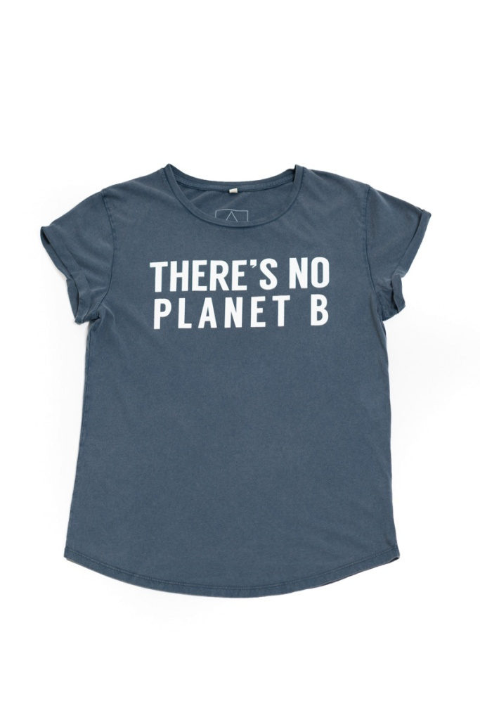 There´s No Planet B Feminine - Vintage Denim
