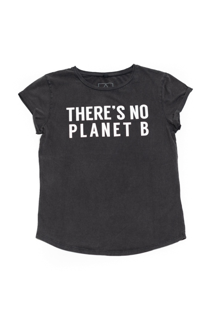 There´s No Planet B Feminine - Vintage Black