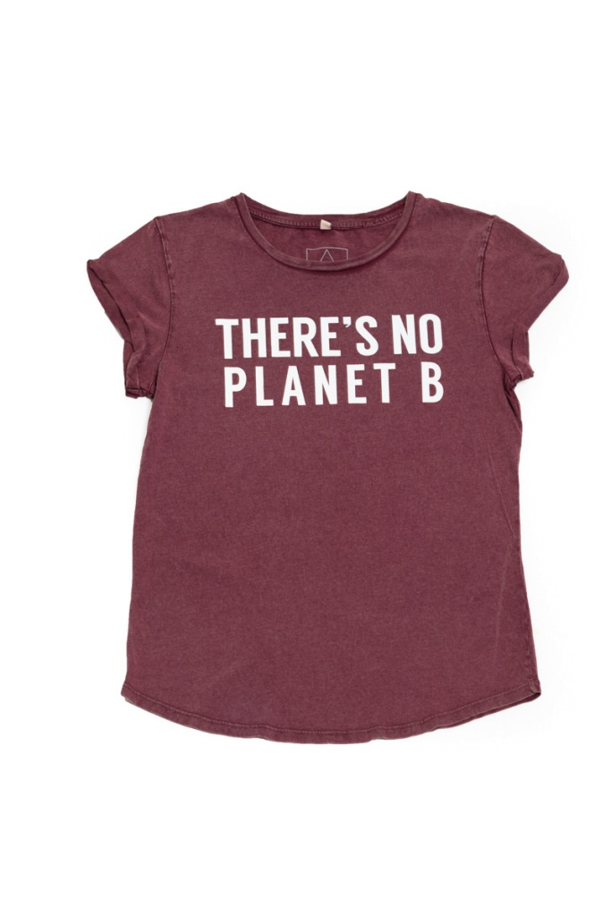 There´s No Planet B Feminine - Vintage Burgundy