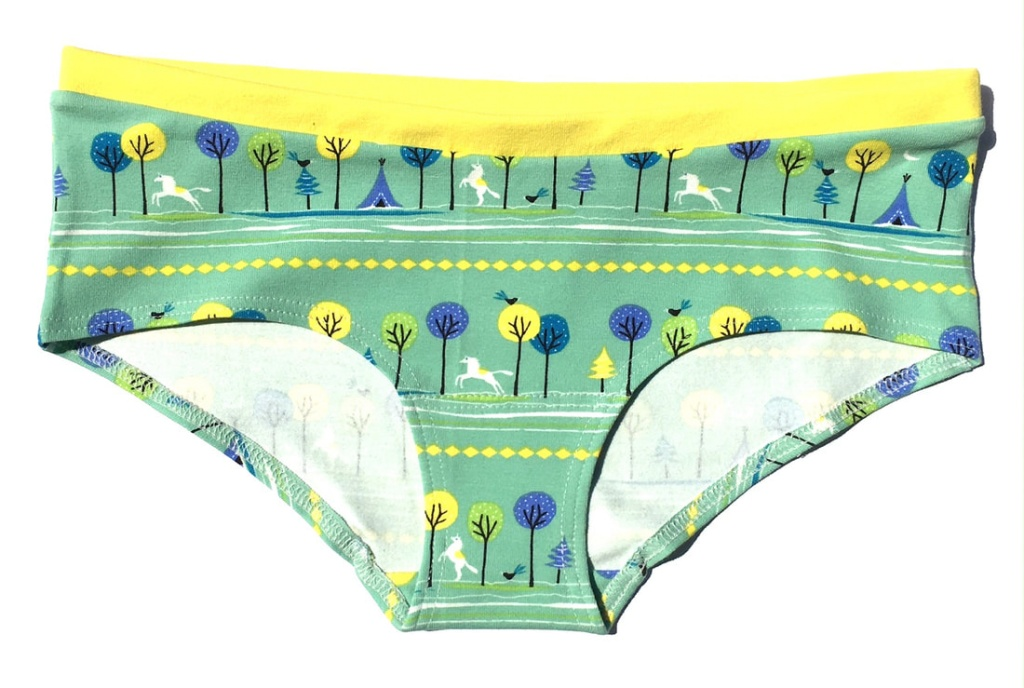 Hipster Panties - Trees and horses