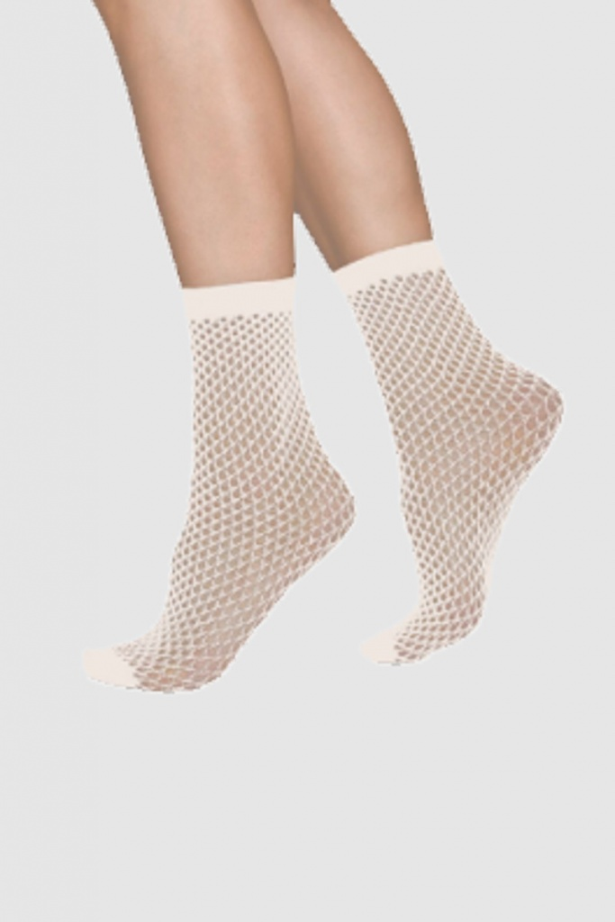 Vera Net Sock - Ivory