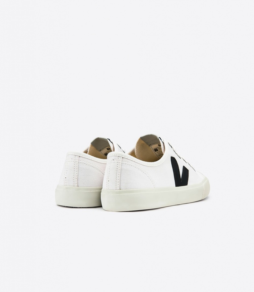 Wata Canvas - White/Black