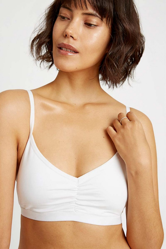 Soft Bra Top - White