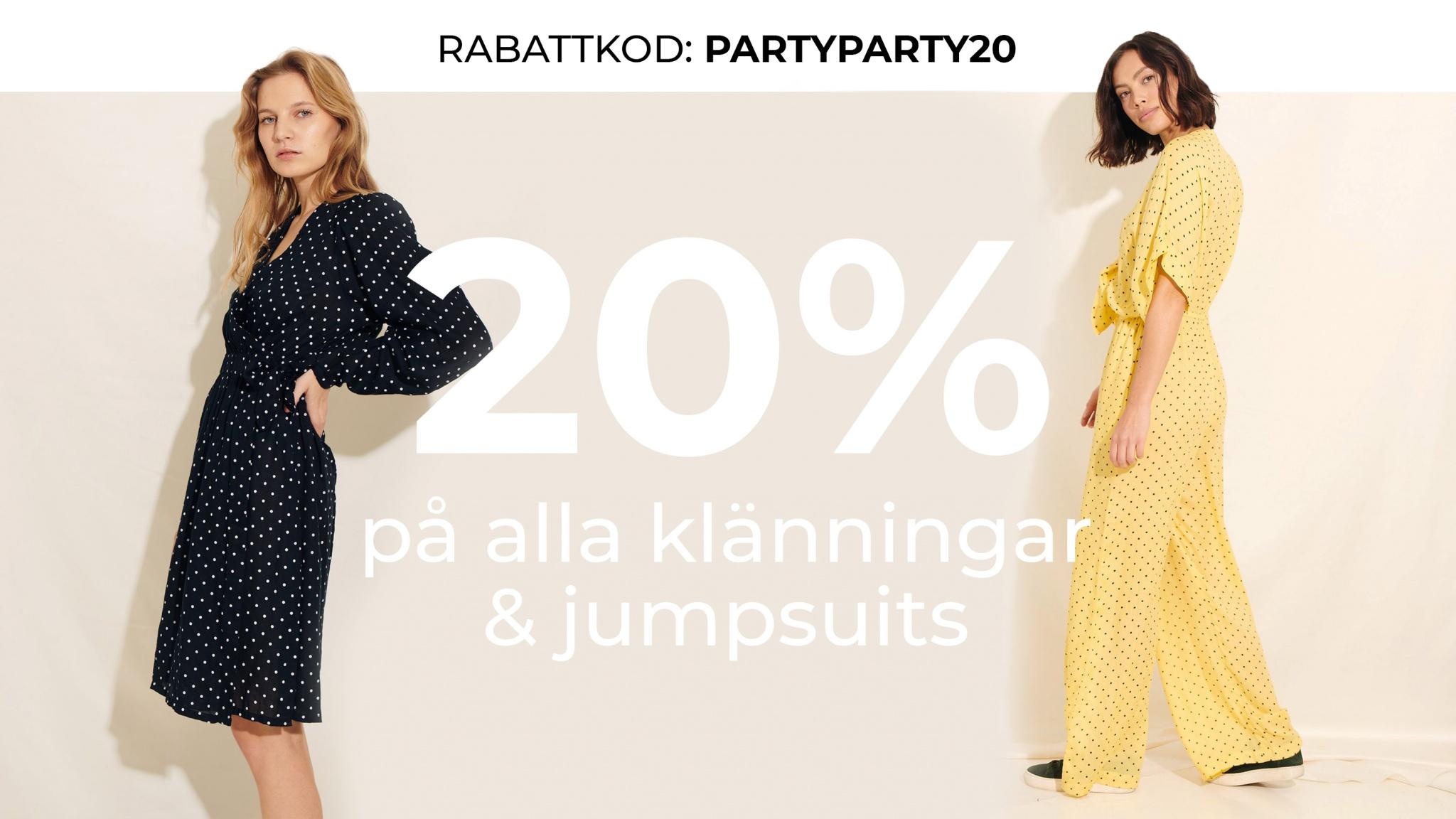 REA ekologiska klänningar & jumpsuits