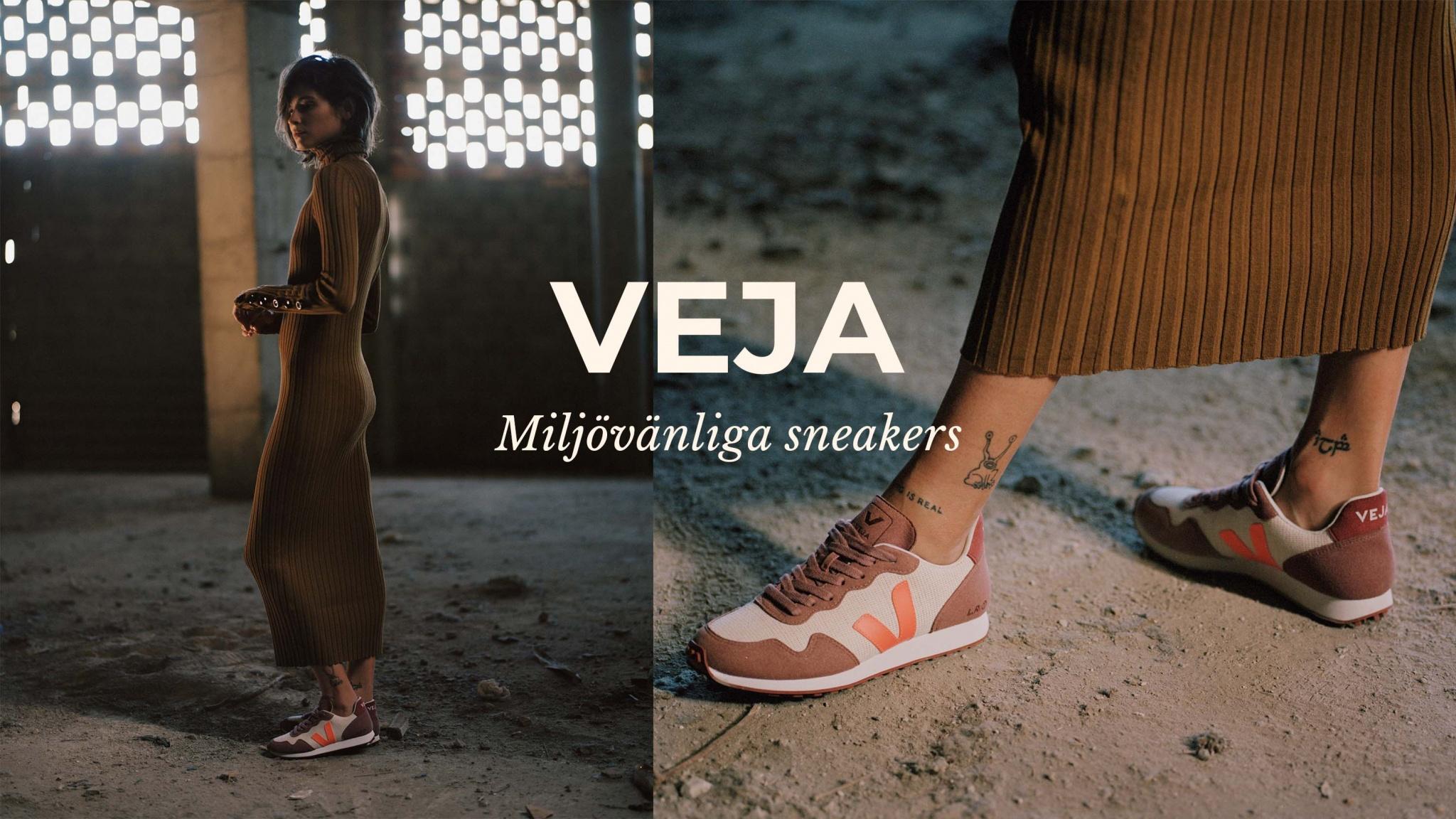 Miljövänliga, veganska sneakers