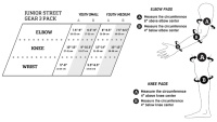 Pro-Tec Junior Street Gear 3 Pack Checker