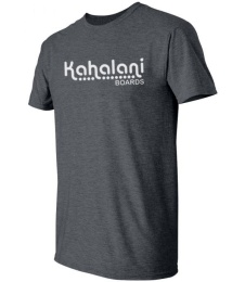 Kahalani t-shirt logo Dark Heather