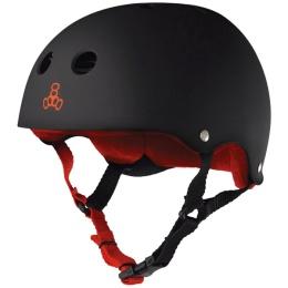 Triple 8 Helmet Sweatsaver Black