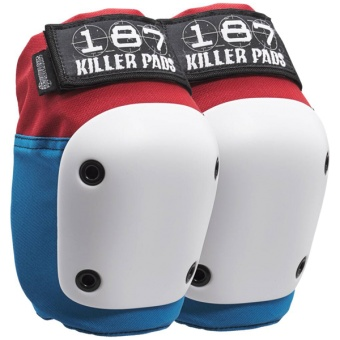 187 killerpads Fly knee pads Red/Blue