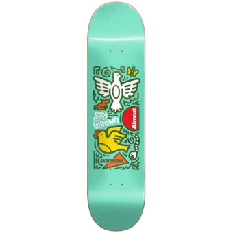 Almost 7.75 Skateistan Sky Doodle R7 deck