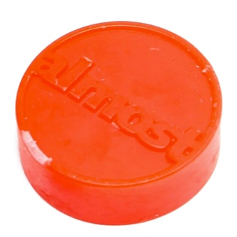 Almost Puck Curb Wax Red