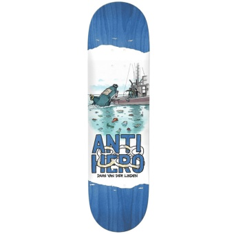 Antihero 8.18 DAAN Plastics deck